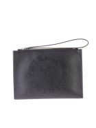 Stella McCartney Black Pierced Clutch - Black