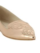 Sophia Webster Bibi Butterfly Slippers - Rose Gold