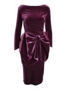 La Petit Robe Di Chiara Boni Le Petite Robe By Chiara Boni 'jeniletta' Polyester Dress - Amethyst
