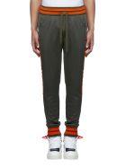 Dolce & Gabbana Trousers - Grigio fango scuro arancio