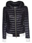 Herno Hooded Padded Jacket - Black