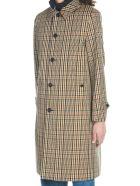 Burberry 'lenthorne' Coat - Multicolor