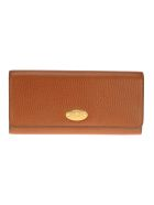 Mulberry Mulberry Plaque Long Wallet - OAK