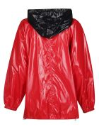 Givenchy Red Hooded Jacket - Red