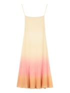 Jacquemus Pleated Knitted Dress - Multicolor