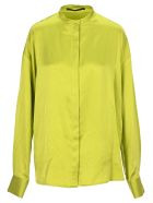 Haider Ackermann Oversized Silk Shirt - ACID GREEN