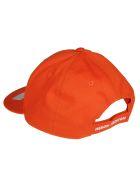 HERON PRESTON Embroidered Cap - Orange Multicolor