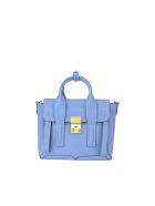 3.1 Phillip Lim Pashli Mini Satchel Bag - Light blue
