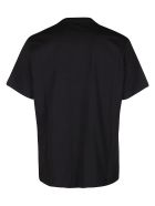 MSGM Black Cotton T-shirt - Black