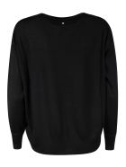 Lorena Antoniazzi Chest Line Star Detail Jumper - Black