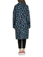 Golden Goose Multicolor Alberta Coat - Blu