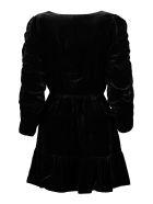 Mes Demoiselles Velvet Dress - black