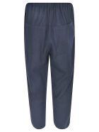 A Punto B Cropped Wide-leg Trousers - Navy
