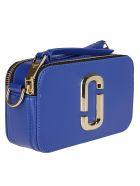 Marc Jacobs Blue Leather Snapshot Crossbody Bag - Blue