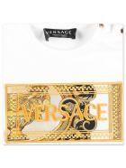 Versace T-shirt - Bianco, Nero e Oro