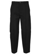 Balenciaga Classic Cropped Pants - BLACK