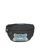 Kenzo Tiger Belt Bag - Nero