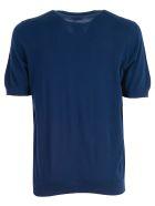 Drumohr Plain T-shirt - Blue