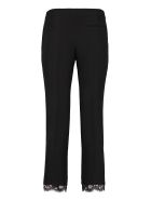 Alexander McQueen Crêpe Pants With Straight Legs - black