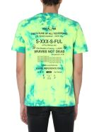 Diesel T-just-slits-x86 T-shirt - MULTICOLOR