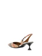 Burberry Leticia  Slingback Pumps - Beige