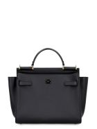 Dolce & Gabbana Sicily Soft Leather Tote - black