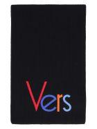 Versace Wool Scarf - black