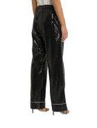 In The Mood For Love Loren Sequined Pyjama Pants - Nero