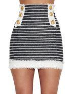 Balmain Skirt - Black&White