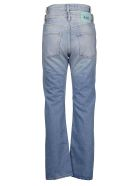 Aries Double High-waisted Straight Jeans - Blue