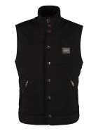 Dolce & Gabbana Body Warmer Jacket - black