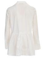 Erika Cavallini Amira Shirt Cotton Popeline - Bianco