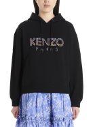 Kenzo 'kenzo Paris' Hoodie - Black