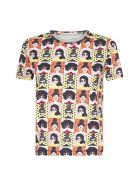 Alice + Olivia Rylyn Print Cotton T-shirt - Stace tribe
