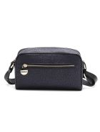 Borbonese Shoulder Bag Small - Nero/nero