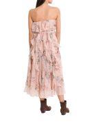 Zimmermann Bowie Waterfall Dress - Rosa