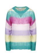 RED Valentino Multicolor Mohair Sweater - Multicolour