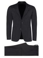 Tagliatore Virgin Wool Two Piece Suit - blue