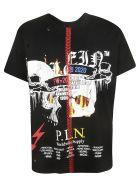 Philipp Plein Printed T-shirt - Black/Multicolor