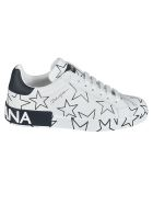 Dolce & Gabbana Star Motif Sneakers - White