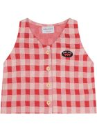 Bobo Choses Multicolor Blouse For Girl With Logo - Red
