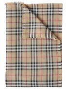 Burberry Gauze Vintage Check Scarf - ANTIQUE YELLOW
