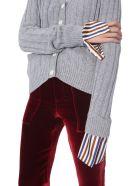 Jejia V-neck Cardigan - GRIGIO