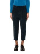 Drumohr Blue Ribbon Velvet Trousers - Blue