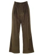 Jejia Pants W/curl On Waist - Kaki