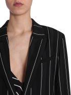 Haider Ackermann Striped Blazer - NERO