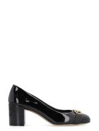 Salvatore Ferragamo Garda Patent Leather Pumps - black