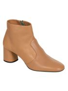 Paola D'Arcano Side-zip Boots - Nude