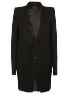 Rick Owens Oversized Coat - black