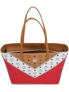 MCM Visetos Fabric Tote Bag - Multicolor